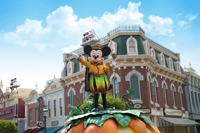 Mickey Mouse Halloween Time Street Party Hong Kong Disneyland
