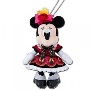 Minnie Plush Badge Disney Halloween Merchandise 2019