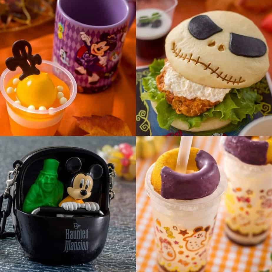 Tokyo Disneyland Halloween Food and Snacks Menu 2019