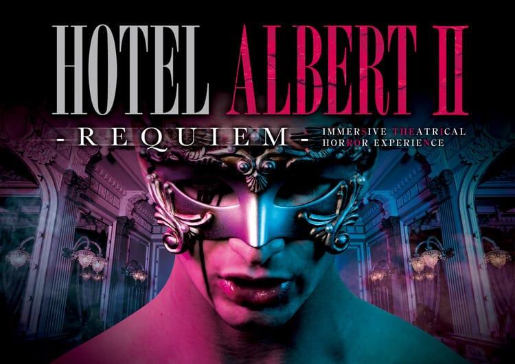 Hotel Albert II Universal Studios Japan Halloween 2019
