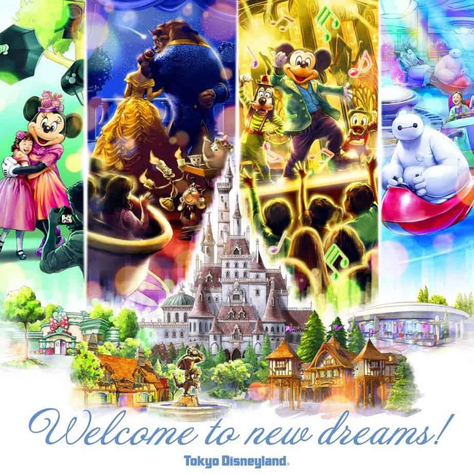 Beauty and the Beast Attraction Opens April 15, 2020, at Tokyo Disneyland