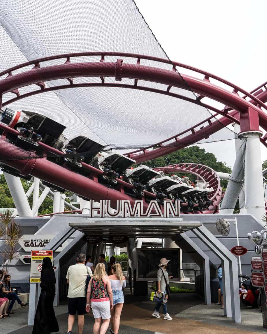 Battlestar Galactica Human Roller Coaster