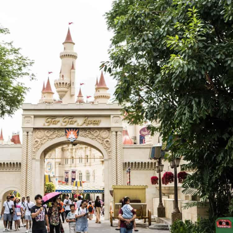 Far Far Away Shrek Castle Universal Studios Singapore