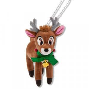 Reindeer Plush Badge