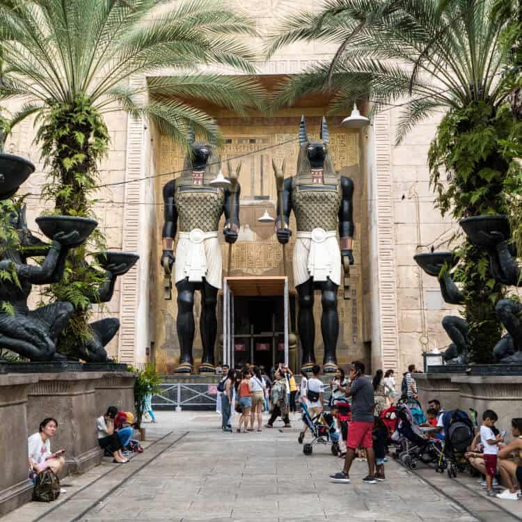 Revenge of the Mummy Universal Studios Singapore