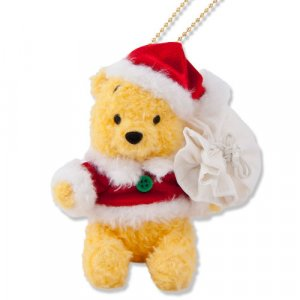 Santa Pooh Plush badge
