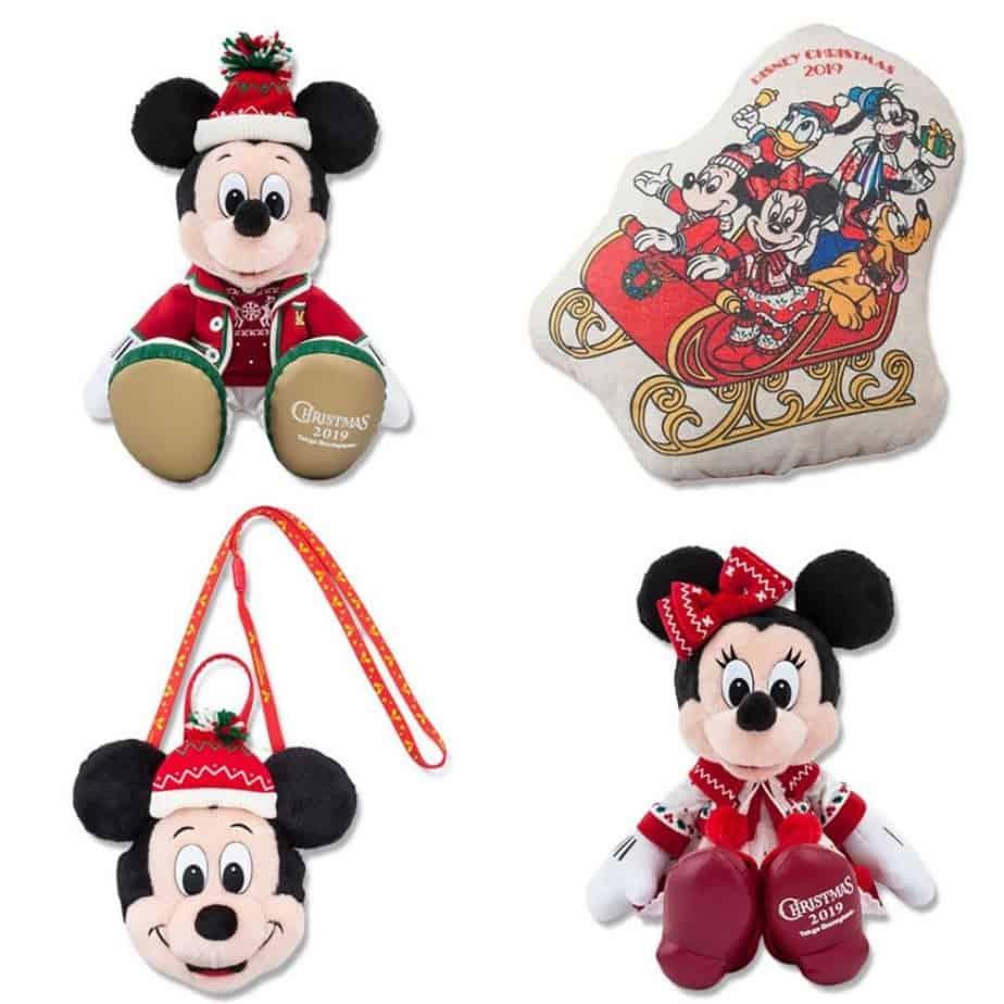 Tokyo Disneyland Christmas Merchandise 2019