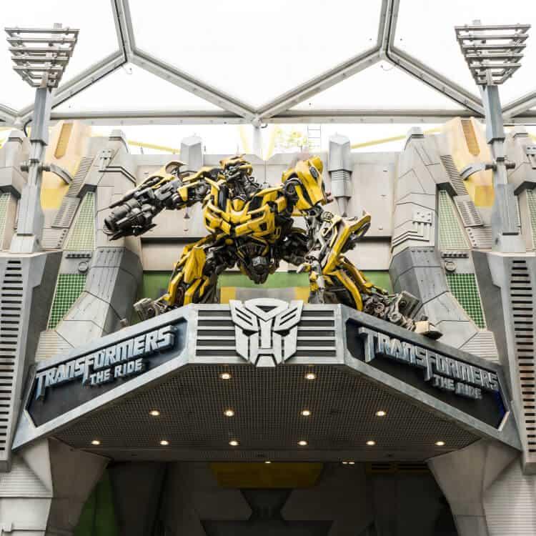 Transformers the Ride Universal Studios Singapore