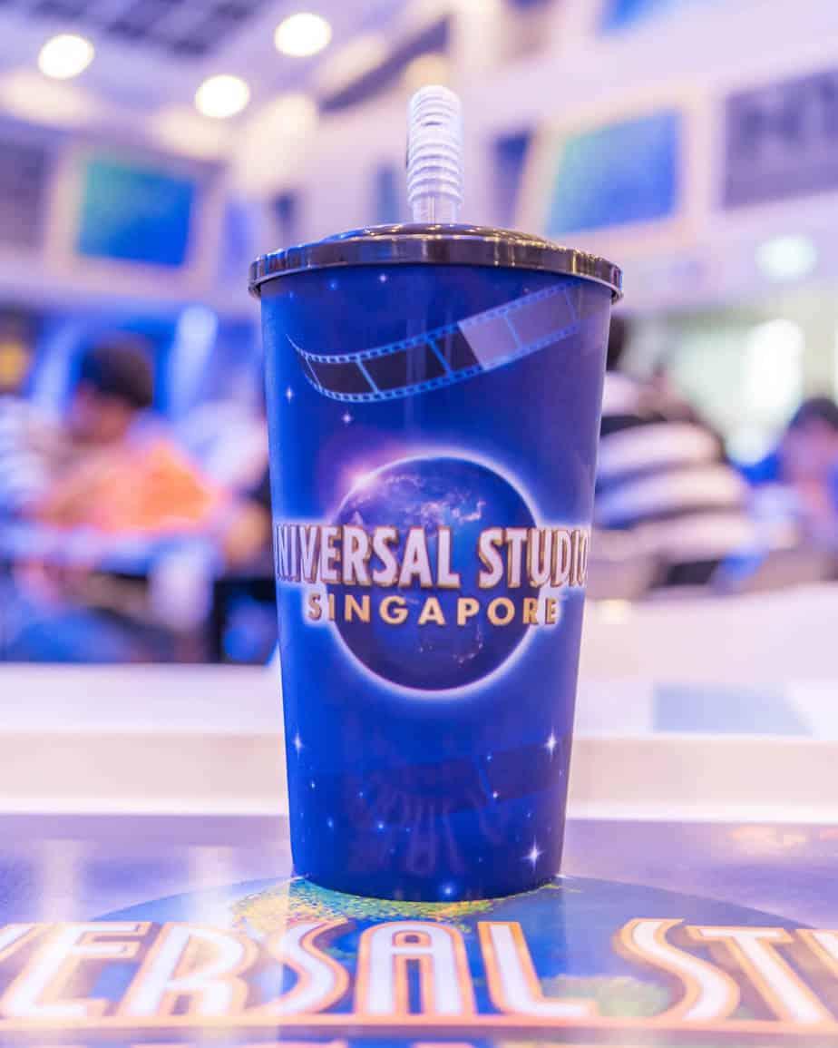 Universal Studios Singapore Refillable Soft Drink