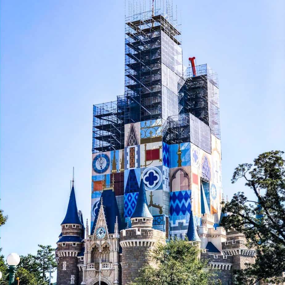 Tokyo Disneyland Construction Update (Fall 2019)