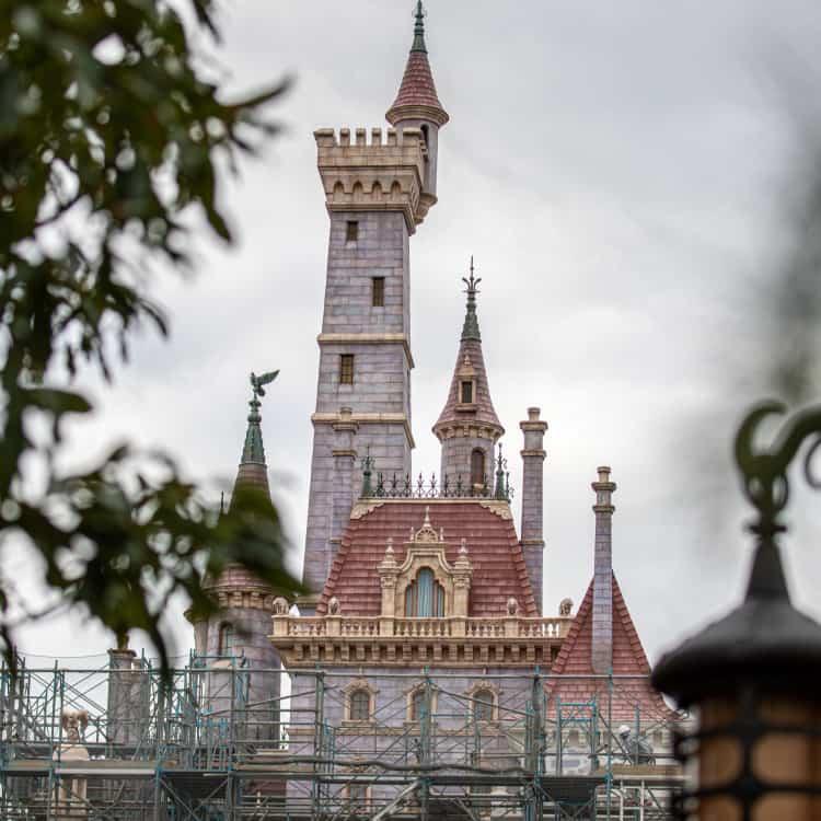 Tokyo Disneyland Construction Update (Winter 2019)