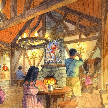 La Taverne de Gaston Restaurant, LeFou's and Big Pop coming to Tokyo Disneyland