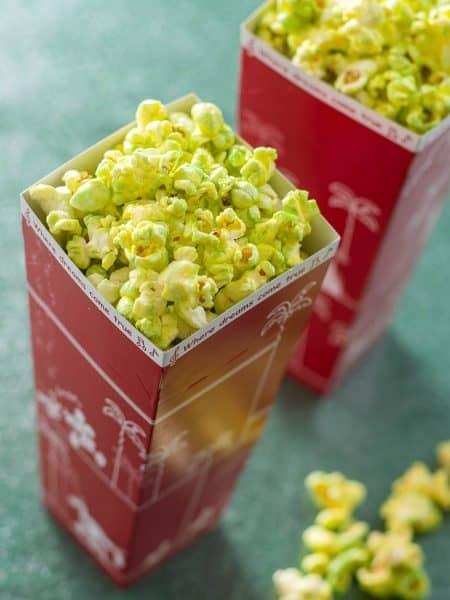 Matcha White Chocolate Popcorn New Years 2020 Tokyo Disneyland