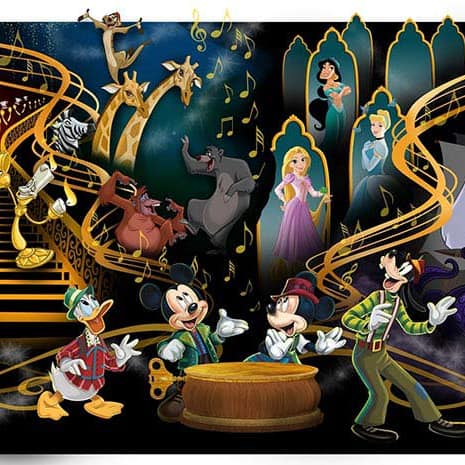 Mickey's Magical Music World Show Coming to Tokyo Disneyland's New Fantasyland Forest Theatre