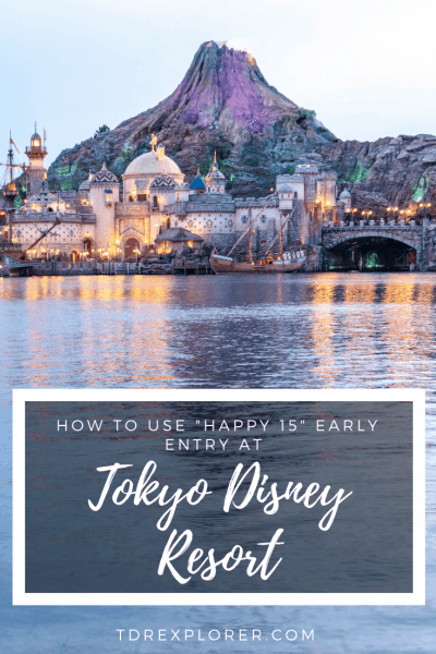 Tokyo Disneyland Happy 15 Early Morning Magic