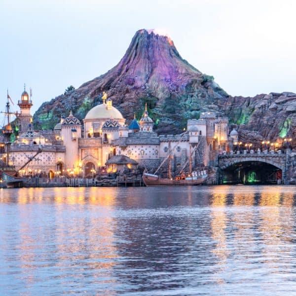 Tokyo DisneySea Mount Prometheus