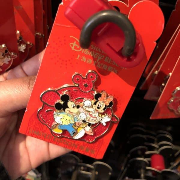 Chinese New Year 2020 Shanghai Disneyland Mickey Minnie Pin