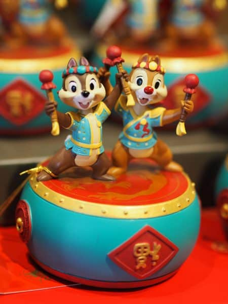 Chip N Dale Figure Chinese New Year 2020 Shanghai Disneyland