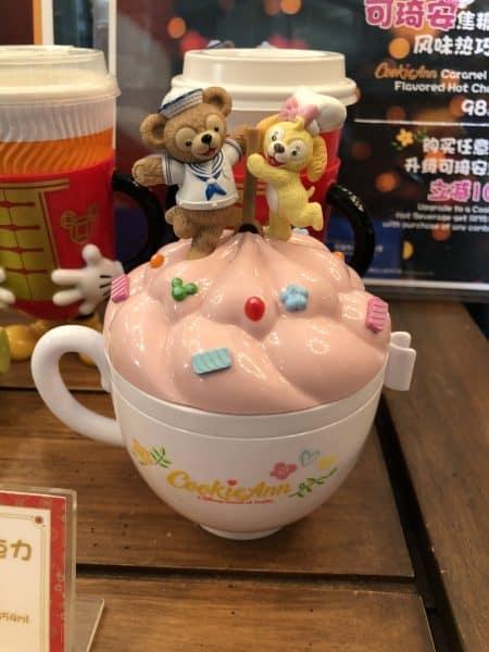 Duffy CookieAnn Cup Shanghai Disneyland