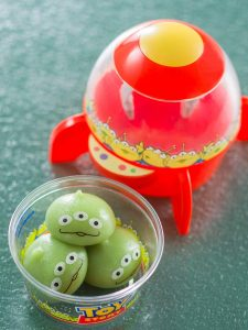 Green Alien Mochi Case Pixar Playtime Menu 2020