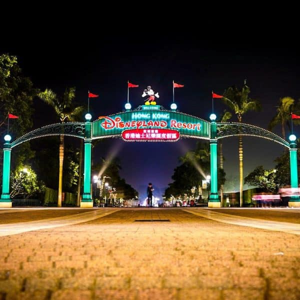 Hong Kong Disneyland closed due to the Coronavirus