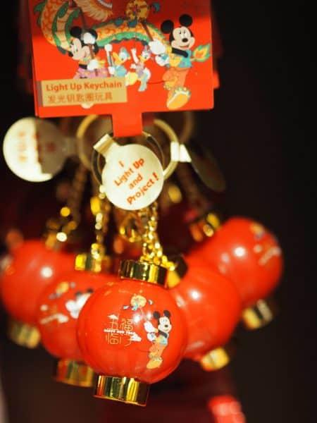 Lightup Keychain Chinese New Year 2020 Shanghai Disneyland