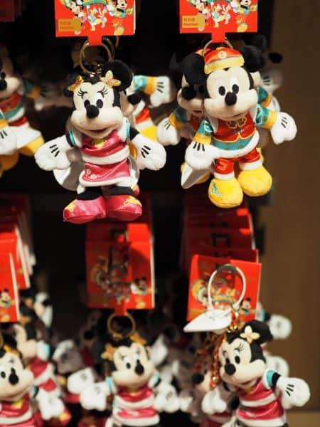 Mickey Minnie Plush Chinese New Year 2020 Shanghai Disneyland