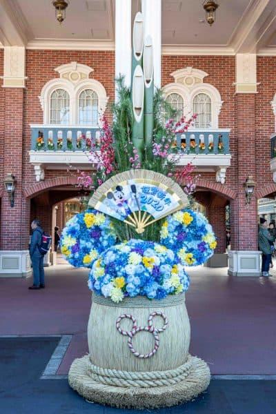 Mickey New Years 2020 Decoration Tokyo Disneyland