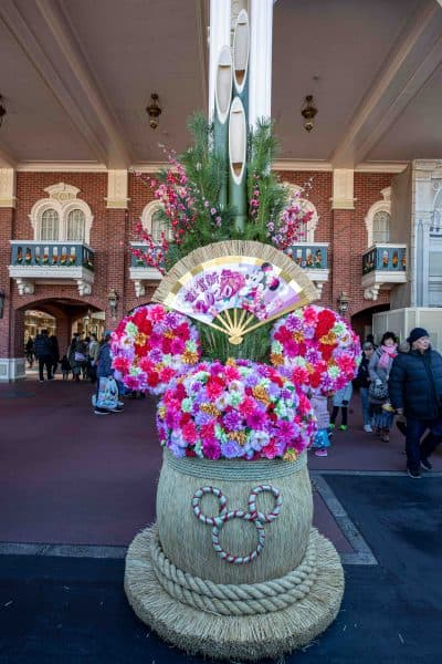 Minnie New Years 2020 Decoration Tokyo Disneyland