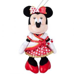 Minnie Plush Badge