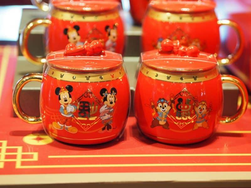 Mugs Chinese New Year 2020 Shanghai Disneyland