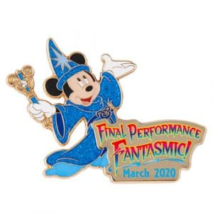 Pin Fantasmic Final Performance Merchandise