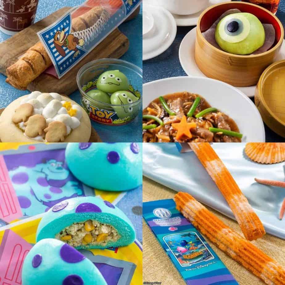 Pixar Playtime Food & Snacks at Tokyo DisneySea 2020
