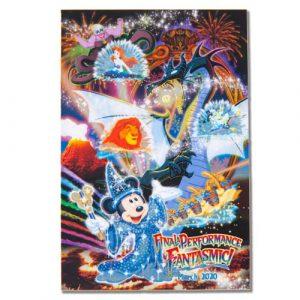 Postcard Fantasmic Final Performance Merchandise