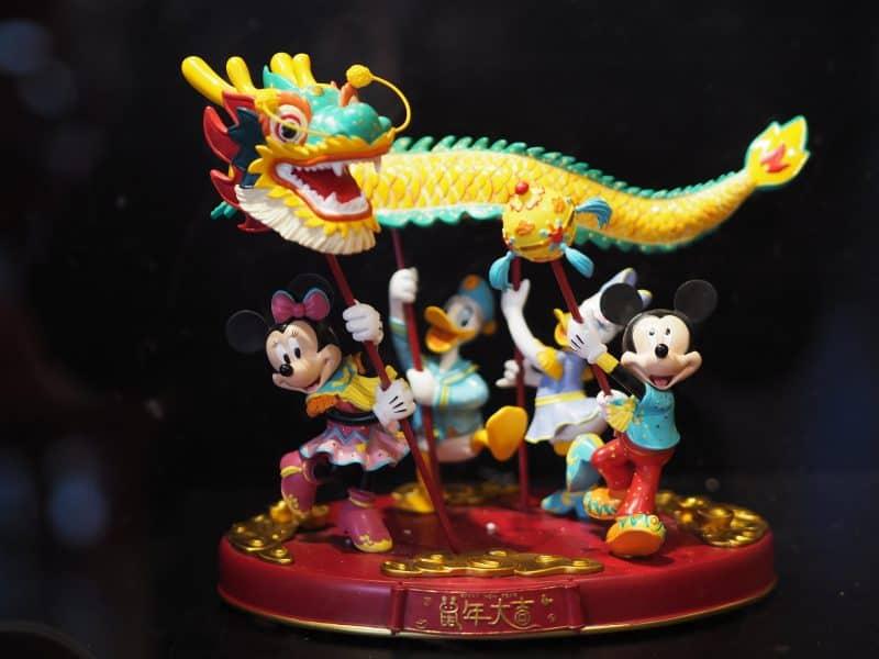 Shanghai Disneyland Chinese New Year Figure