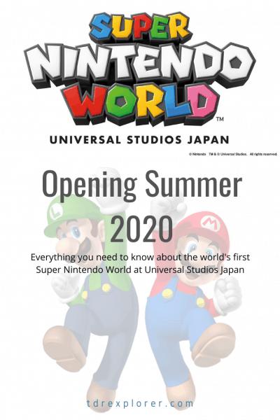 Super Nintendo World at Universal Studios Japan Opening