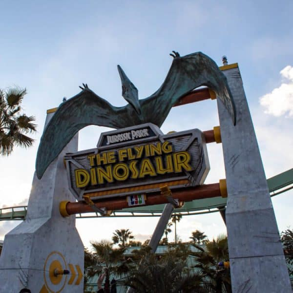 The Flying Dinosaur Universal Studios Japan