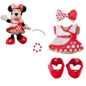 Very Very Minnie Costume for Posey Plush