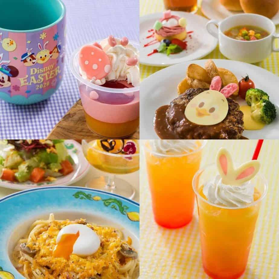 Tokyo DisneySea Easter Food & Snacks Menu 2020