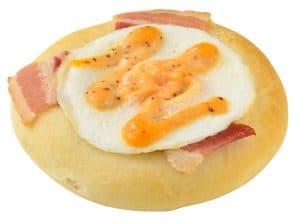 Egg and Bacon Focaccia Tokyo DisneySea Easter Menu