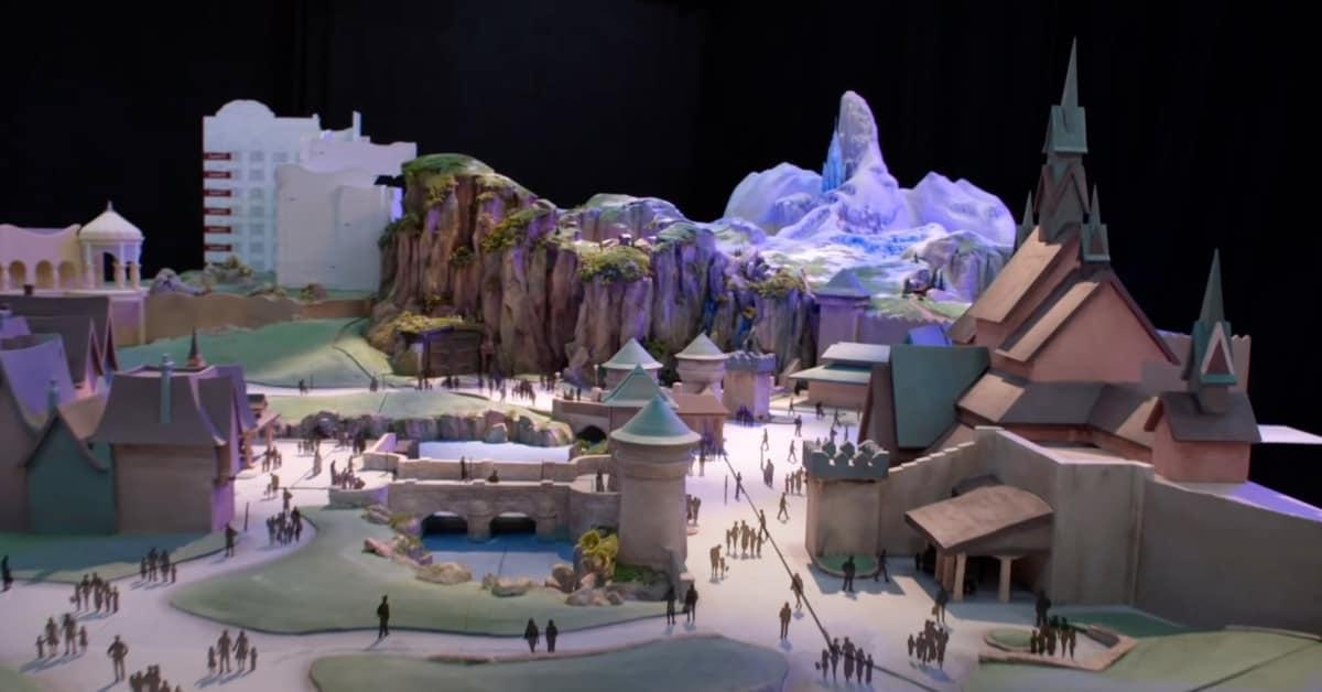 Fantasy Springs Frozen Area Rendering