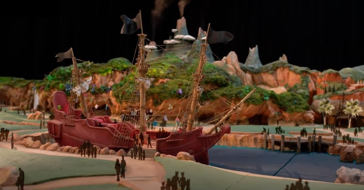 Fantasy Springs Peter Pan Area Rendering Close