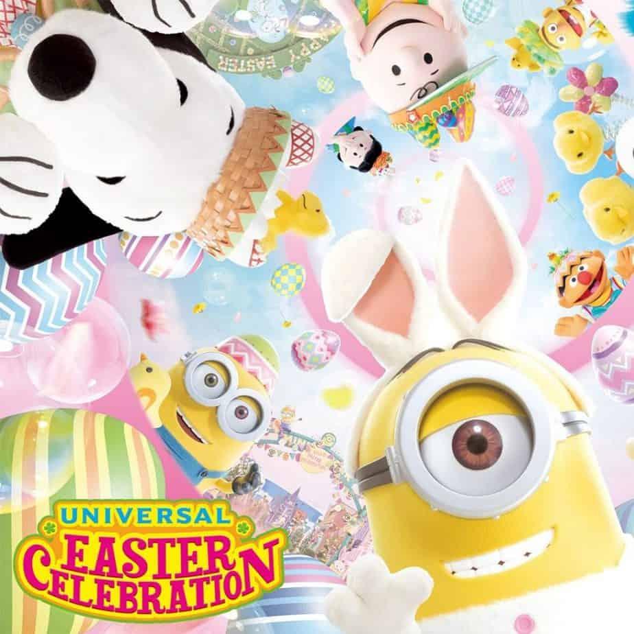 Universal Studios Japan's Easter Celebration 2020