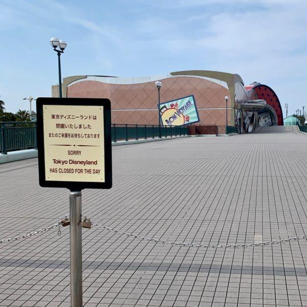 Tokyo Disneyland Closed Coronavirus