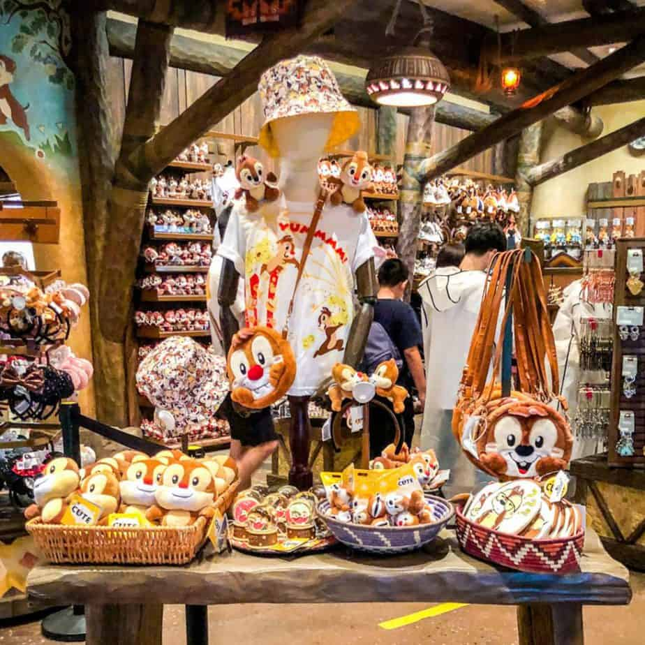 New Chip n Dale Merchandise at Shanghai Disneyland