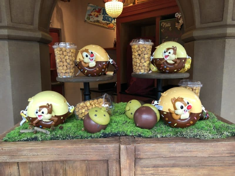Chip n Dale Popcorn Bucket Shanghai Disneyland
