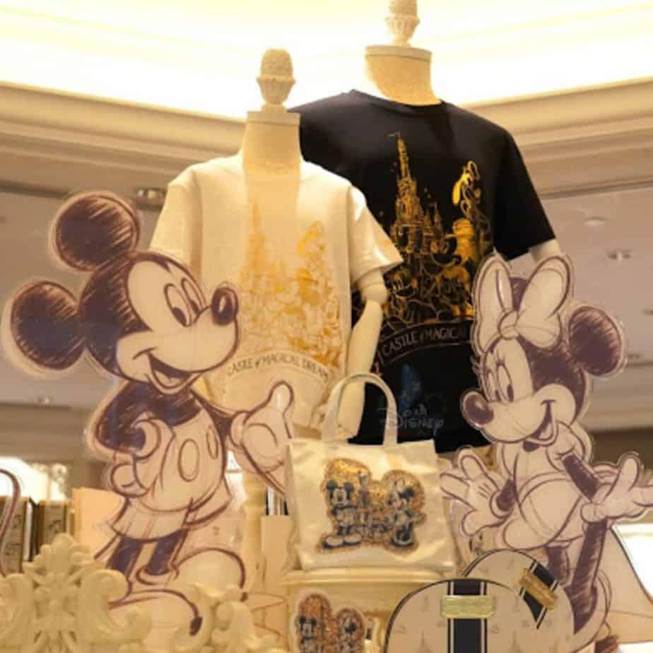 "Hong Kong Disneyland ""Castle of Magical Dreams"" Merchandise"