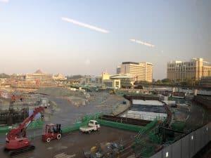 Tokyo DisneySea Fantasy Springs Construction May 2020 10