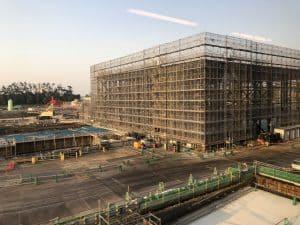 Tokyo DisneySea Fantasy Springs Construction May 2020 13