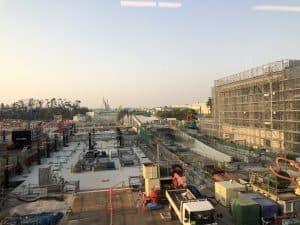 Tokyo DisneySea Fantasy Springs Construction May 2020 5